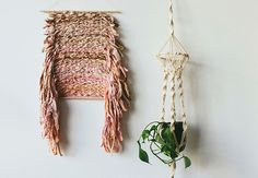 I find this to be a distraction, but if you're into it... here ya go! ~Annie~ DIY Wall Hanging