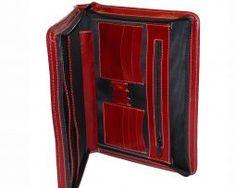 Praktická-kožená-spisovka-č.7673-v-červeno-hnedej-farbe-1 Wallet, Fashion, Colors, Moda, Fashion Styles, Fashion Illustrations, Purses, Diy Wallet, Purse