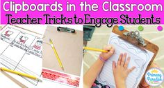Clipboards are such a useful classroom tool! Here are some clipboard hacks and ways to engage your students using clipboards in your elementary classroom!