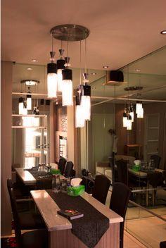 East Coast Apartment - desain interior ruang makan apartemen