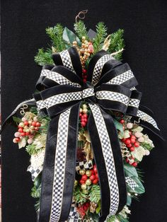 Christmas Wreath Mackenzie-Child Inspired Design by TylerInteriors