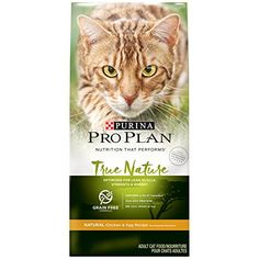 Purina Pro Plan Dry Cat Food True Nature Grain Free Formula Natural Chicken  Egg Recipe 6Pound Pack of 1 * This is an Amazon Affiliate link. Be sure to check out this awesome product.