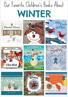 Picture Book Set for Kids: Winter! (Our favorite children's books for winter!) ~ BuggyandBuddy.com