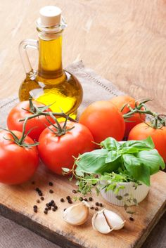 Mediterranean recipes with tomatoes basil and olive oil