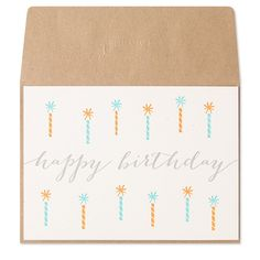 Teal Candles Letterp