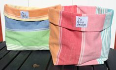 Breadbag or storage in fabric for your by ReDesignandReCycled, kr76.00