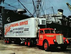 1946 Ad Diamond T Diesel Semi Truck | Flickr - Photo Sharing!