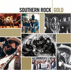 southern rock album covers | Various Artists's Southern Rock Gold CD Cover