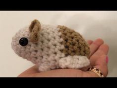 Tutorial on How to Crochet an Amigurumi Baby Guinea Pig - YouTube