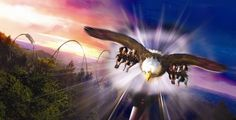 Dollywood was named the 4th best amusement park in the world in the 2011 Golden Ticket Awards. They're debuting Wild Eagle, the first wing coaster in the U.S., in March 2012!