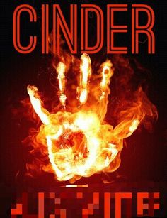 The cover for ''Cinder'' (pseudonym blurred).