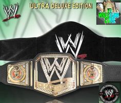 New 2013 WWE Championship Wrestling Ultra Deluxe Replica Belt   eBay Wrestling Cake, Wwe Belts, Wwe Wrestlers, Shoulder Bag, Beautiful Cakes, Cake Ideas, Wedding Cake, Gold, Bags
