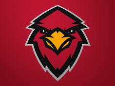 I like the emotion in this • Cardinals by Matt Willcox via dribbble #logo #design