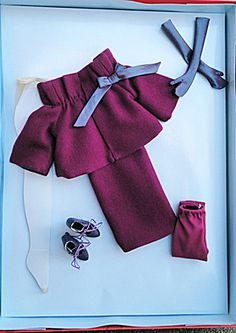 This is my Item No. TAT0010 at http://www.donnaskorner.com at the Tias site. It is a 2009 Prim outfit for Antoinette from Robert Tonner's first collection of those dolls and outfits. It is a limited edition of 500. It is offered for $108.00.