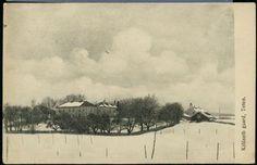 Oppland fylke Østre-Toten kommune Kjølseth gaard, Skreia. Utg Eneret Norsk American foto Kr.a. . Brukt 1920