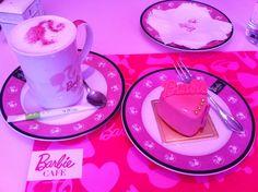 Barbie- chino @ Barbie café Taipei ( Taiwan)