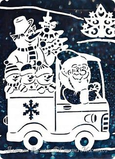 Christmas Stencils, Christmas Crafts, Diy And Crafts, Paper Crafts, Event Signage, Christmas Window Decorations, Paper Magic, Wood Carving Patterns, Scroll Saw Patterns