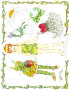 Photo: Fairy Paper Doll