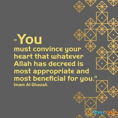 Whatever has been decreed for you, it the most beneficial for you! ❤️  #Islam #Faith #Allah