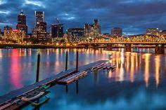 Capturing Oregon: Photographing Portland At Night   Travel Oregon