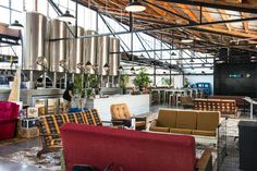 Gallery of Brothers Brewery + Juke Joint BBQ / MA Studio - 2
