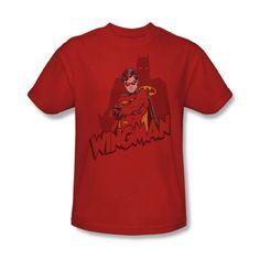 Camiseta para hombre Batman-Wingman en rojo Rojo rosso XXX-Large #camiseta #friki #moda #regalo