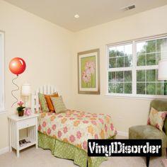 Full Color Balloon Vinyl Wall Decal or Car Sticker Balloons BA013