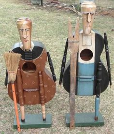 American Gothic Guitars, sculpture, timothy campbell 2010