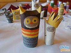 toilet paper roll craft | 30 Examples of Toilet Paper Roll Arts & Crafts