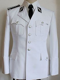 "WWii Leibstandarte SS ""Adolf Hitler"" M32 Uniform White Summer Uniform Set -commodityocean.com"