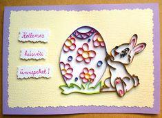 húsvéti nyuszis üdvözlet / Easter bunny card