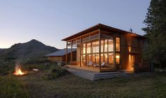 Twisp Cabin   Johnston Architects