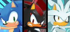Image result for Sonic Shadow And Silver Camelot