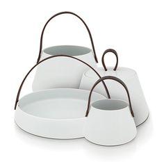 Zestaw pocelanowy - JARDINIERE - DECO Salon. porcelain exclusive set of decorative accessories #homeaccessories