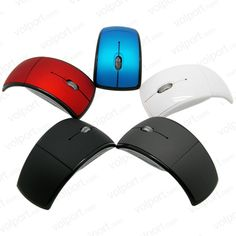 E19 USB 2.4G Wireless Optical Mouse 3D Folding Office Mause Mice For Laptop Notebook Computer Peripherals
