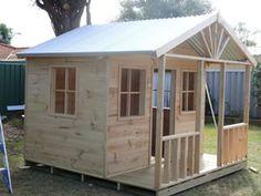 Cubby House : Cubby Houses : Cubbyhouse : Cubbyhouses : Cubbykraft Australia- Christine's Cubby