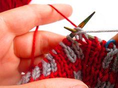 Double knitting - Διπλό πλέξιμο