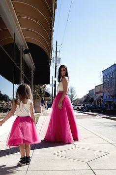 Long Tulle Skirt Party Skirt. Tulle Skirt Prom by EllaEman on Etsy