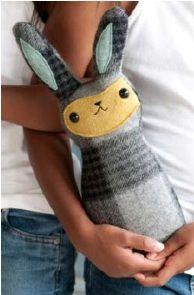Tutorial: Hoppy Bunny Softie · szycia   CraftGossip.com