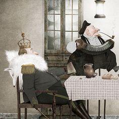 En casa de Masia, Jaska y Kaspar (detail) by Iban Barrenetxea