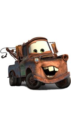 Mater from the movie Cars