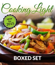 Cooking Light Volume 1 (Complete Boxed Set): With Light Cooking, Freezer Recipes, Smoothies and Jucing:Amazon:Kindle Store