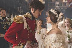Victoria ITV- Jenna Coleman Tom Hughes ep 5 The Wedding Scene.