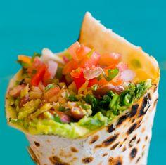 Santa Cruz Beach Veggie Burritos