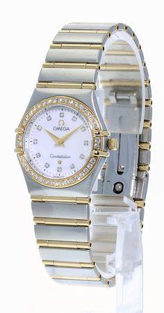 2bf68a0e500 Omega Constellation Ladies Diamond Watch