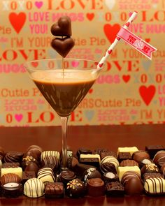 The Grand *Chocolate* Finale!  This is THE perfect ending to your romantic Valentine's Day dinner for two <3