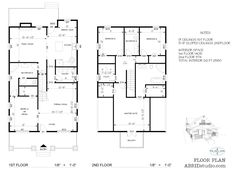 modern open concept floor plan for a new craftsman style home custom floor plans - Custom Floor Plans