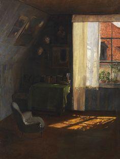 Wilhelm Roegge (German, 1829 - 1908) In Atelier, 1900/10 Oil on canvas, 99 x 75 cm