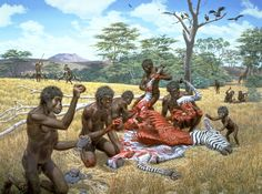 Study Suggests Co-Evolution of Tools and Talking - Archaeology Magazine ~~~~~~~ Excellent Article Prehistoric World, Prehistoric Creatures, Biological Anthropology, Homo Habilis, Early Humans, Human Evolution, Archaeology News, Before Us, Science And Nature