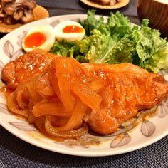 豚ロース厚切りで!簡単!ポークチャップ♩ by ayakat0911 【クックパッド】 簡単おいしいみんなのレシピが306万品